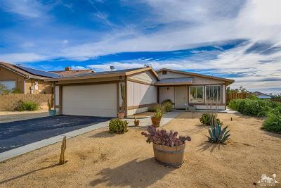 Desert Hot Springs CA Single Family Home Contingent: $189,900
