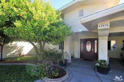 Indio Single Family Home For Sale: 43476 Arabia Street