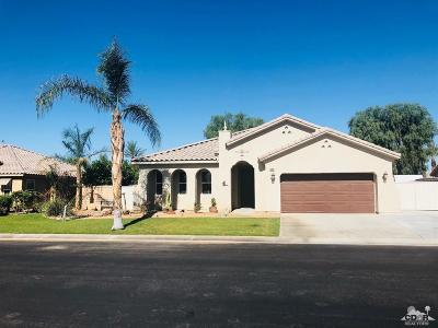 Indio Single Family Home Contingent: 41159 Langley Court