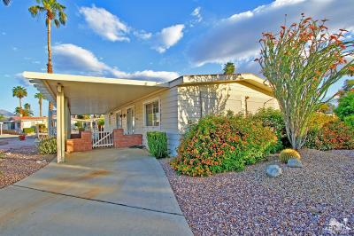 Portola Country Club Mobile Home For Sale: 74099 Mercury West Circle