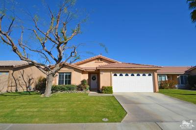 Indio Single Family Home Contingent: 82570 Lincoln Drive