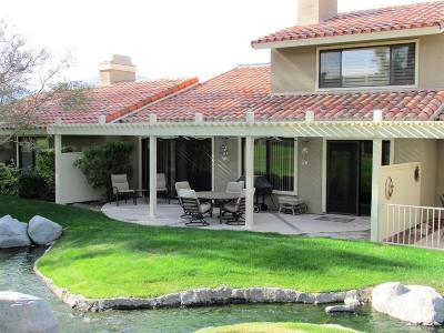 Rancho Mirage Condo/Townhouse For Sale: 33 Tennis Club Drive