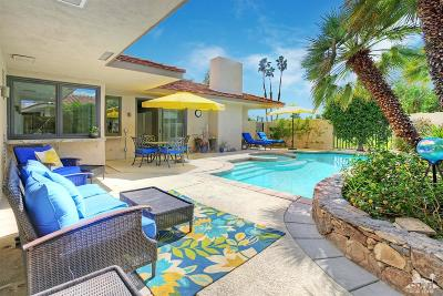 Rancho Mirage Single Family Home Contingent: 14 Stanford Drive