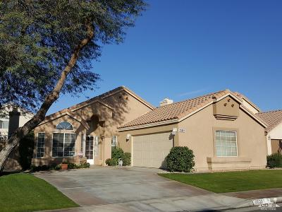 Indio Single Family Home Contingent: 46253 Mesa Verde Drive