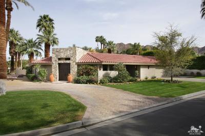 Indian Wells Single Family Home Contingent: 45680 Vista Dorado Drive