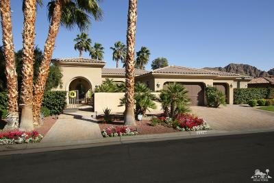 Indian Wells C.C. Single Family Home For Sale: 45700 East Via Villaggio