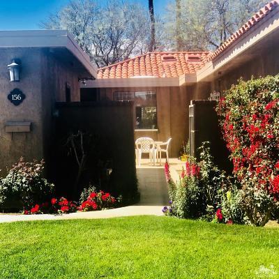 Rancho Mirage Condo/Townhouse For Sale: 156 La Cerra Drive