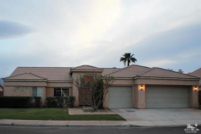 La Quinta Single Family Home For Sale: 44775 Los Manos Drive