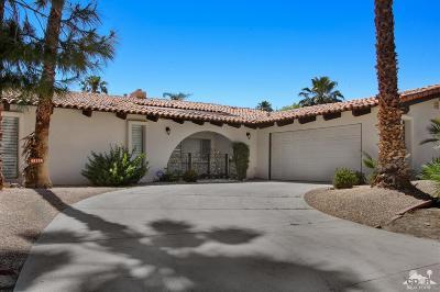 Palm Desert, Indio, Indian Wells, Rancho Mirage, La Quinta, Bermuda Dunes Single Family Home For Sale: 49100 Eisenhower Drive