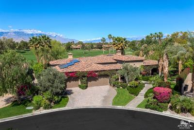 Indian Wells Single Family Home Contingent: 45633 West Via Villaggio