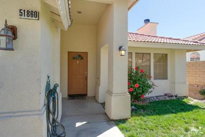 La Quinta Single Family Home For Sale: 51860 South Avenida Madero