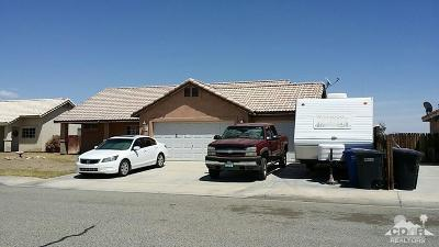 Blythe Single Family Home For Sale: 212 Shaded Palm