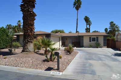 Palm Desert Country Single Family Home Contingent: 43210 Virginia Avenue