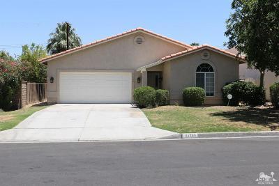 La Quinta Single Family Home For Sale: 51700 Avenida Juarez