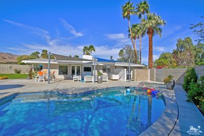 Rancho Mirage Single Family Home Contingent: 71849 Magnesia Falls Drive