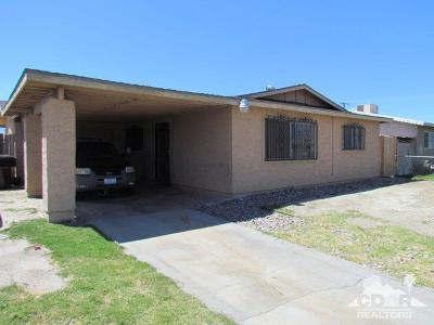 Indio Single Family Home For Sale: 83539 Quail Avenue
