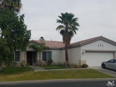 La Quinta Single Family Home Contingent: 79894 Amora Drive