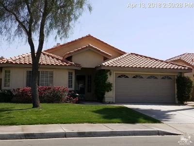 La Quinta Single Family Home Contingent: 78597 Torino Drive