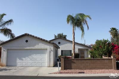 Palm Desert, Indio, La Quinta, Indian Wells, Rancho Mirage Single Family Home For Sale: 81641 Avenue 48 #35