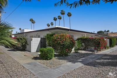 Palm Springs Condo/Townhouse For Sale: 1907 East Tachevah Drive