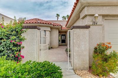 Palm Desert CA Condo/Townhouse For Sale: $418,500