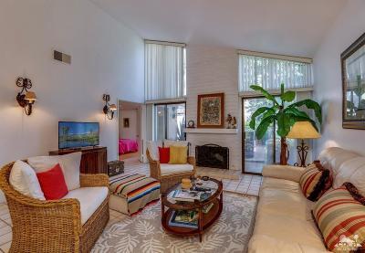 Palm Springs Condo/Townhouse For Sale: 1734 East Camino Parocela