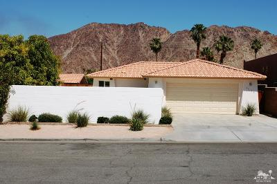 La Quinta Single Family Home For Sale: 54120 Avenida Ramirez