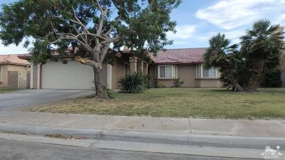 Indio Single Family Home Contingent: 81341 Avenida Tortuga