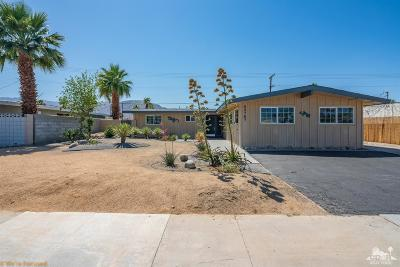 Palm Desert Single Family Home Contingent: 43767 Marigold Drive