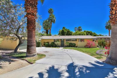 Rancho Mirage Single Family Home Contingent: 71566 Mirage Road