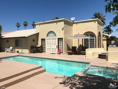 La Quinta Single Family Home For Sale: 80125 Vista Grande