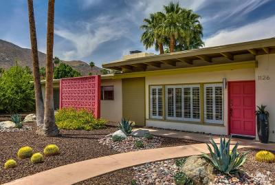Palm Springs Single Family Home Contingent: 1126 North Riverside Drive