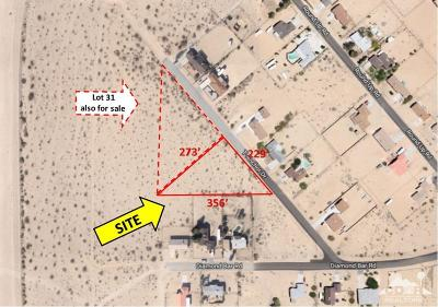 29 Palms CA Residential Lots & Land For Sale: $8,000