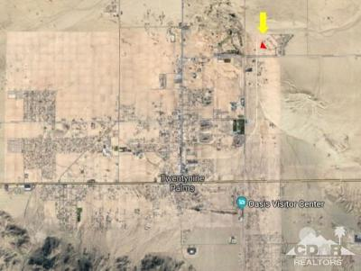 29 Palms CA Residential Lots & Land For Sale: $10,000