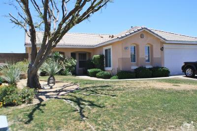 Indio Single Family Home For Sale: 83413 Greenbrier Drive