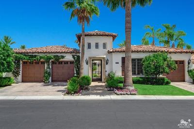 Indian Wells Single Family Home Sold: 76280 Via Chianti