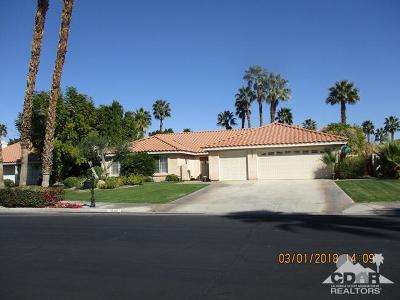 Palm Desert Single Family Home Contingent: 39850 Regency Way Way