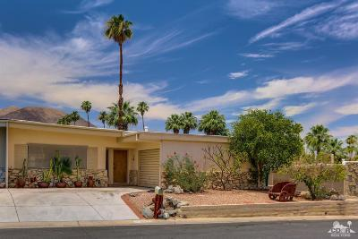 Palm Desert Single Family Home Contingent: 46105 Burroweed Lane