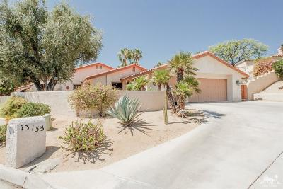 Palm Desert Single Family Home Contingent: 73135 Iron Tree Drive