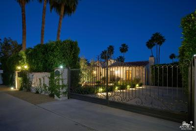 Palm Springs Single Family Home For Sale: 241 East Mesquite Avenue