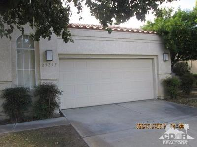 Cathedral City Single Family Home Contingent: 29797 Trancas
