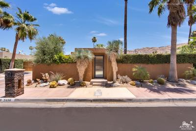 Palm Springs Single Family Home For Sale: 2456 South Caliente Drive