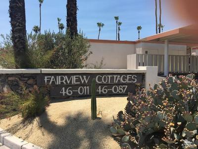 Palm Desert Condo/Townhouse For Sale: 46087 Portola Avenue