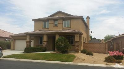 Indio Single Family Home For Sale: 40430 Catania Court