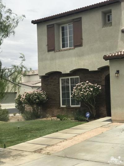 Indio Single Family Home For Sale: 42680 Incantata Place