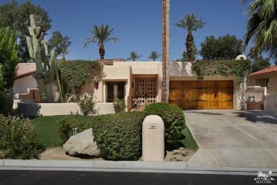 Indian Wells C.C. Single Family Home For Sale: 45801 Club Drive