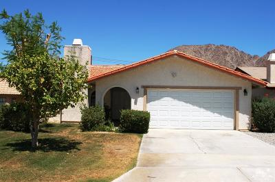 La Quinta Cove Single Family Home For Sale: 54840 Avenida Diaz