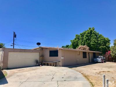 Indio Single Family Home For Sale: 83101 Beachwood Avenue