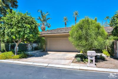 Rancho Mirage Single Family Home Contingent: 40 Princeton Drive