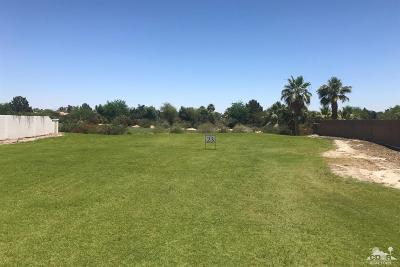 Indian Wells Residential Lots & Land For Sale: 42750 Via Prato
